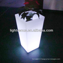 pot de fleur LED étanche moderne