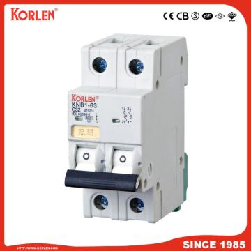 Miniature Circuit Breaker 4.5KA 63A 2P με SEMKO