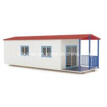 Salle à manger, deux pièces maison préfabriquée (pH-52)