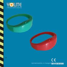 Светоотражающие LED браслет с Мульти цвета безопасности
