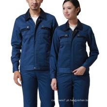 Vestuário de trabalho por atacado de algodão mangas compridas de segurança Workwear