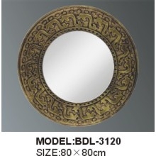 Miroir de salle de bain argenté en épaisseur 5mm (BDL-3120)