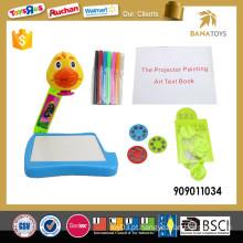 3in1 cartoon projetor pintura brinquedo