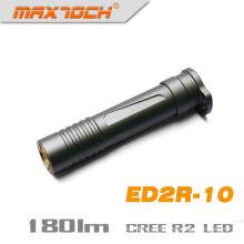 Maxtoch ED2R-10 Aluminio AAA batería seca Cree LED R2 linterna