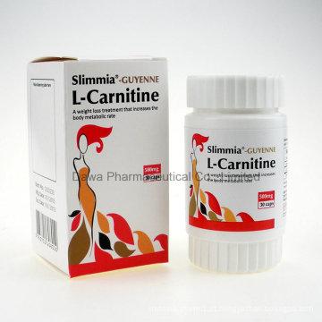 Emagrecimento Corporal de alta Qualidade e Perda de Peso 500mg L-Carnitina Cápsula