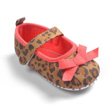 Außenhandel in Leopard Weibliche Baby Prinzessin Schuhe