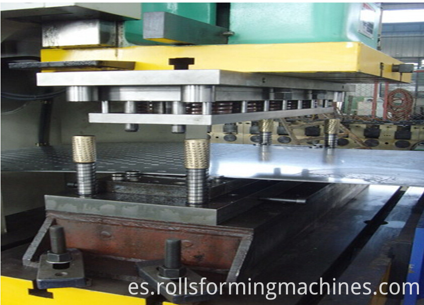 punching machine of cable tray roll forming machine