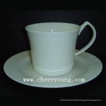 Kaffee-Tasse und Untertasse (CY-B548)