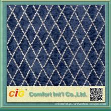 Tela de estofamento acrílica de venda quente do Chenille do teste padrão do poliéster do projeto 2014 novo