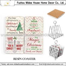 Vente en gros Custom Blank Cork Tea Cup Coaster with Logo
