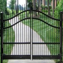 Venta al por mayor mejor venta de puerta de hierro forjado, puerta de entrada para la venta