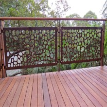Laser Cut Metal Railing Panels