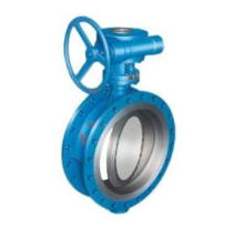 Metal Seated Butterfly Valve Gear Operation