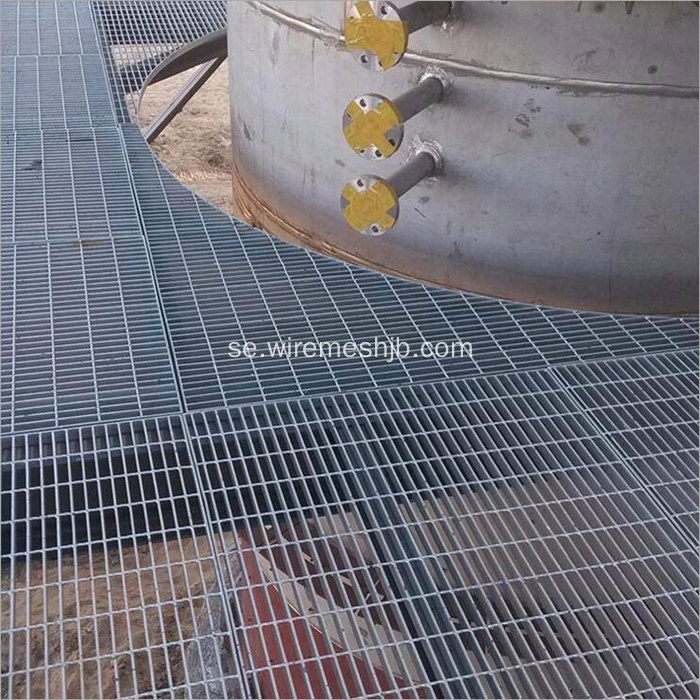 Hot Dipped Galvaniserad Steel Bar Grating