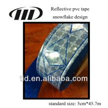 Fita prismática reflexiva de PVC