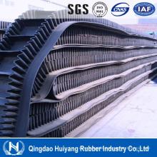 Metallurgy Industry Sidewall Cleated Rubber Covneyor Belting