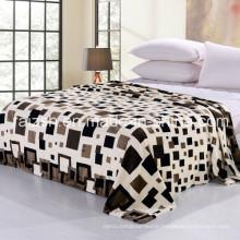 2016 New 100% Polyester Soft Morden Flannel Fleece Blanket