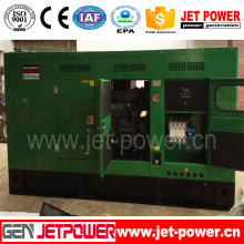 180kw Soundproof Diesel Genset with Perkins Engine Generator Single Phase