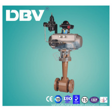 Pneumatic Actuator Carbon Steel Wcb Cryogenic Ball Valves