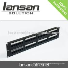 LANSAN Alta qualidade cat5e cat6 patch panel