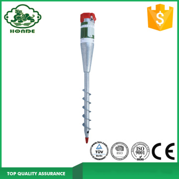 Harga pabrik Galvanis Ground Screw Post Anchor