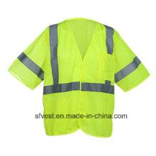 Reflektierende Sicherheitskleidung mit hoher Sichtbarkeit