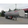 10.6m Tri-axle Fresh Milk Transport Semi Trailer