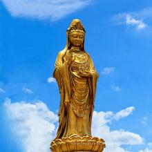 Escultura de metal religioso personalizado bronze grande buda estátuas para venda