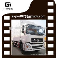 DF camion de fret 160hp van camion fret 10ton van Dongfeng Cargo camion lourds fret sec van camion camion de marchandises 6X4