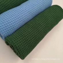 Изготовленное на заказ Промотирование вафли микрофибры гольф полотенце вафельное оптом фитнес полотенце