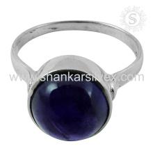 Nueva Espectacular Amethyst Gemstone Silver Ring venta al por mayor 925 Joyería de plata esterlina Jaipur Joyería de plata en línea hecha a mano