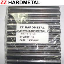 10% Cobalt H6 Fine Grinding 330mm Solid Tungsten Carbide Rod