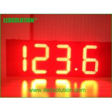 Exposição do preço do gás do diodo emissor de luz