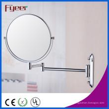 Fyeer alta qualidade rodada parede espelho de maquiagem dobrável (M0508)