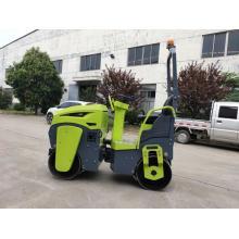 1 Tonne Honda Benzin Benzin Doppelrad Hydraulik Vibrator Pflasterwalze Verdichter