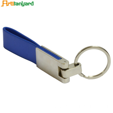 Customized PU Leather Keychain