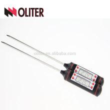OLITER быстрого чтения цифровой термометр для бытовых еды кухни барбекю мяса для копчения