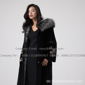 Nerz Lady Fur Reversible Damenmantel