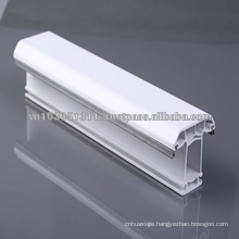 Plastic frame with glass for door and window