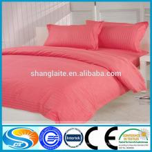 100% algodón 300 hilos de diseño hotel conjunto de ropa de cama