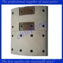 47441-1180a High quality non asbestos front hino brake lining