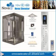 Elevator Passenger Cabin in Painted Steel Finish, Cheap Elevator Cabin Decorative