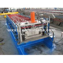 Máquina formadora de rollos de Panel de costura de pie