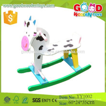 2015 Factory Wholesale Ride on Animal Toy Wooden Rocking Horse