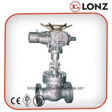 ANSI / API Válvula de Atuação Elétrica Flangeada em Aço Inoxidável