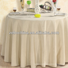 Direct factory made wholesale hotel round tablecloth