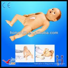 ISO Advanced haute qualité baby nursing models médecine science poupées simulateur de soins infirmiers pour nourrissons