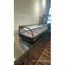 Kuchen Glas Vitrine Kühler Kühlschrank