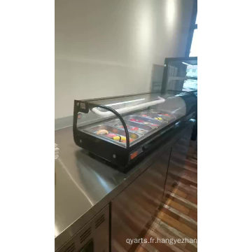 réfrigérateur de réfrigérateur de vitrine de gâteau