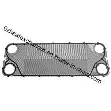 Placa AISI 304 para intercambiador de calor de placas de junta (M3)